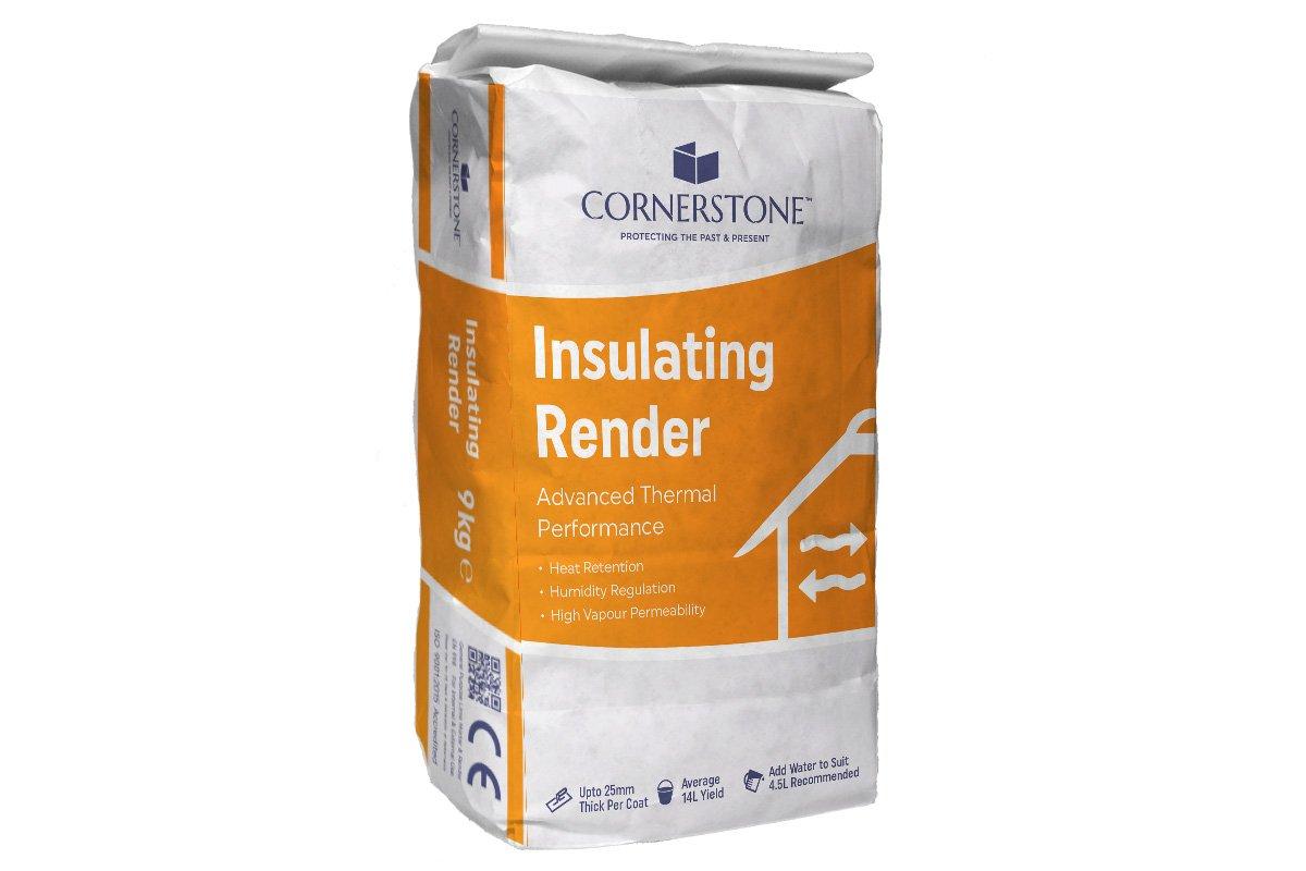 Cornerstone Insulating Render