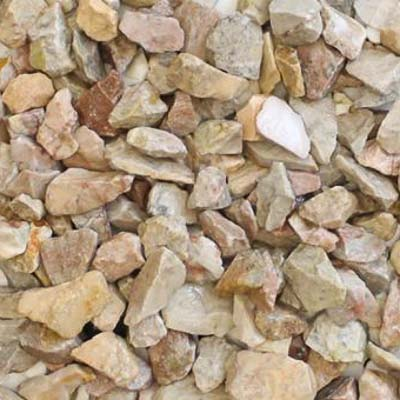 Pink Limestone Chippings - 20mm