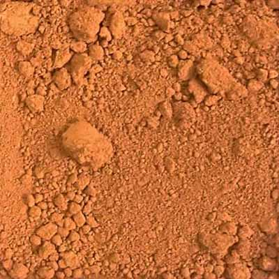 Pigments - Raw Sienna 640