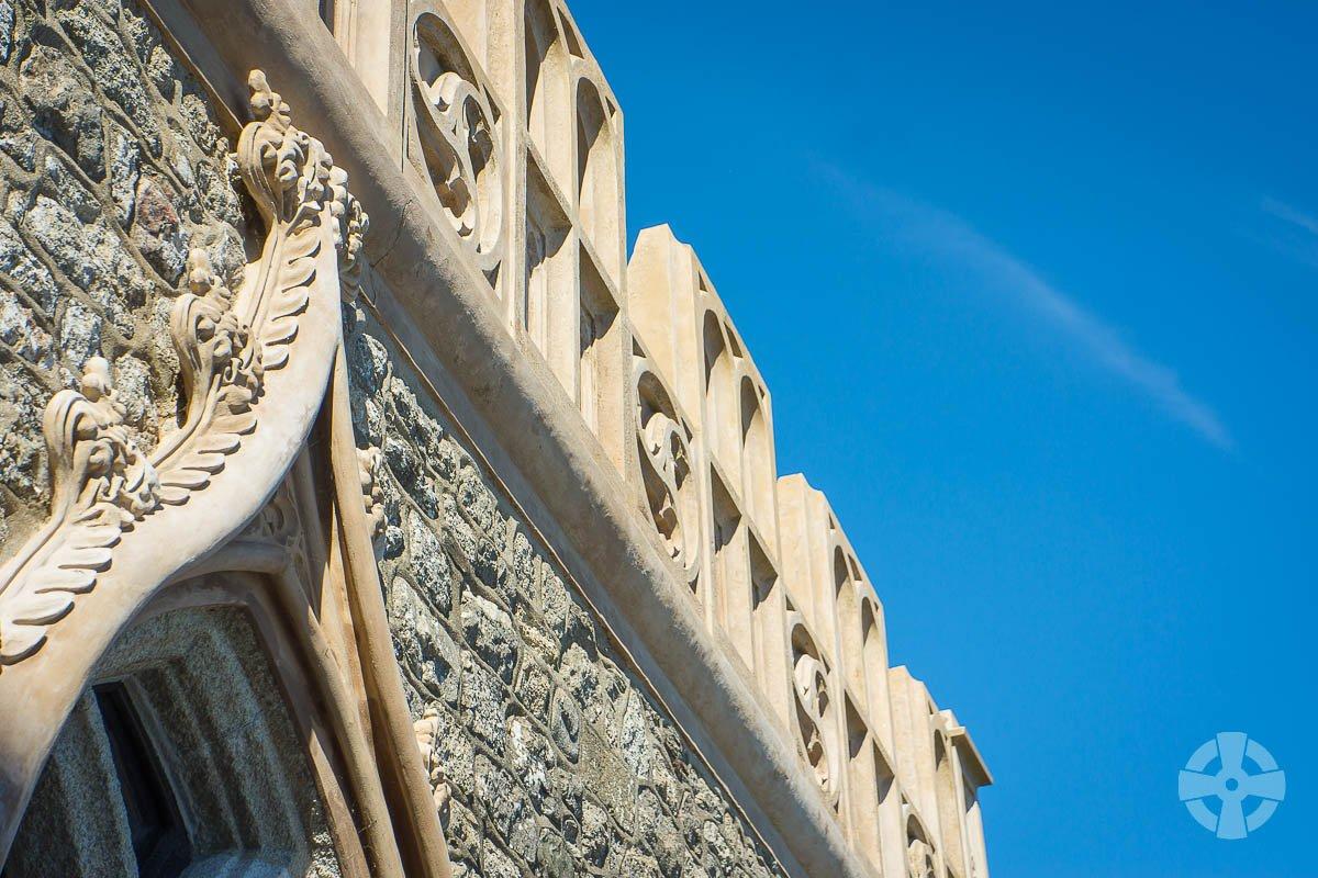 St Michael's Mount window arch