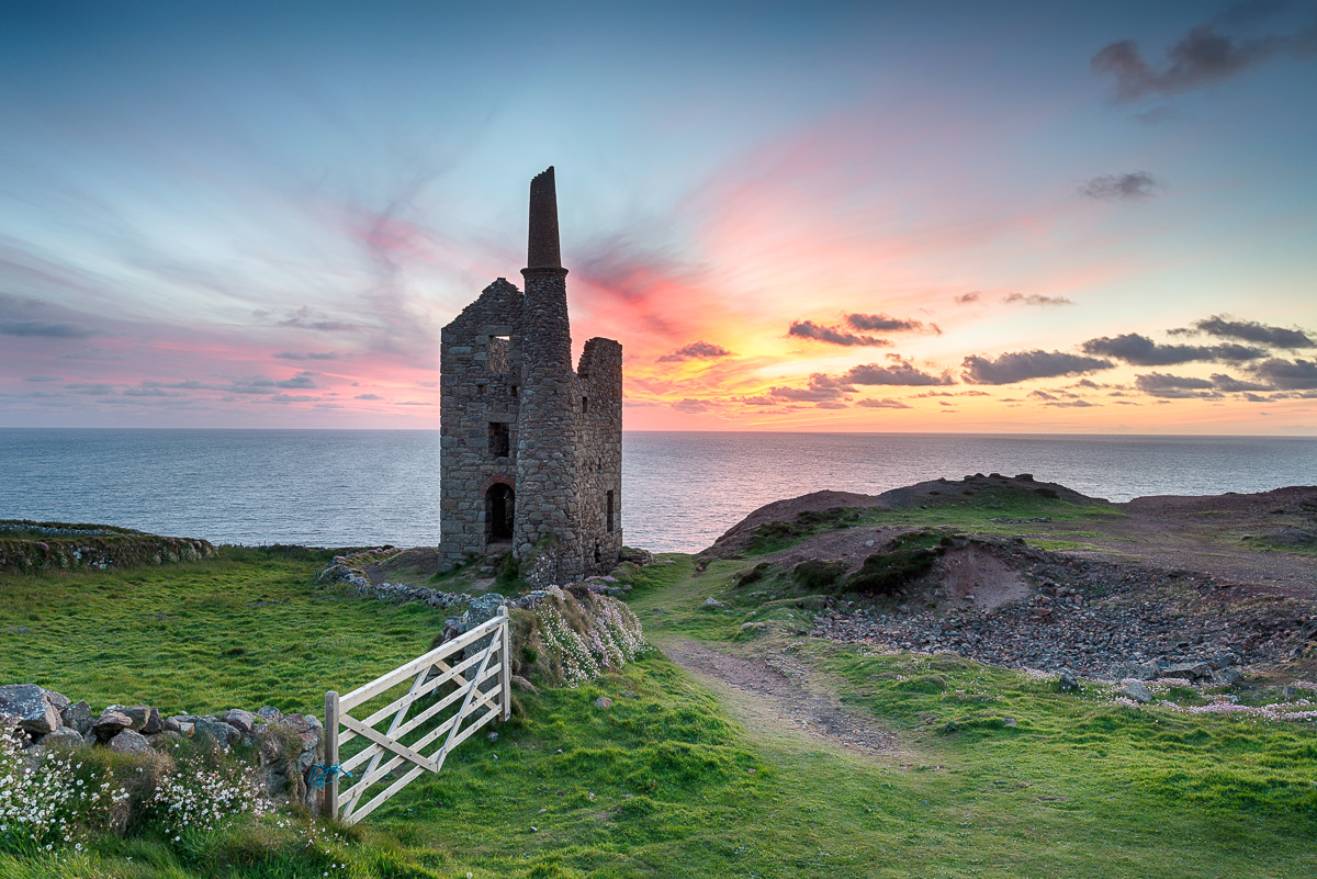 Wheal Owl Engine House - Exposed Mortar