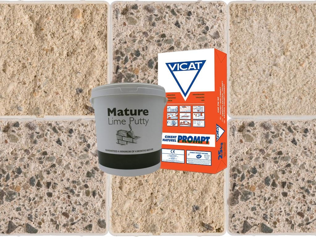 Putty, Mortars, Plasters and Cement