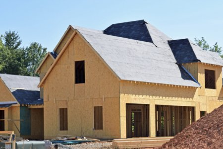house with modern insulation